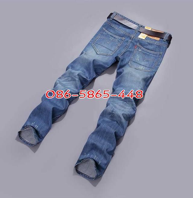 ขายถูก กางเกงยีนส์ผู้ชาย กางเก