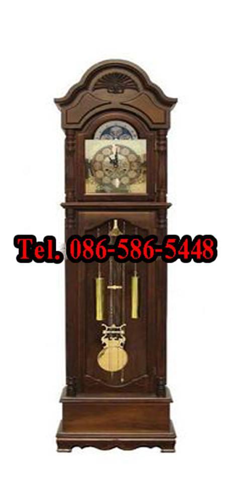 ขาย นาฬิกาไม้ลูกตุ้มโบราณตั้งพ