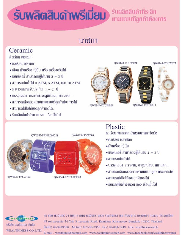 Alloy watch collection