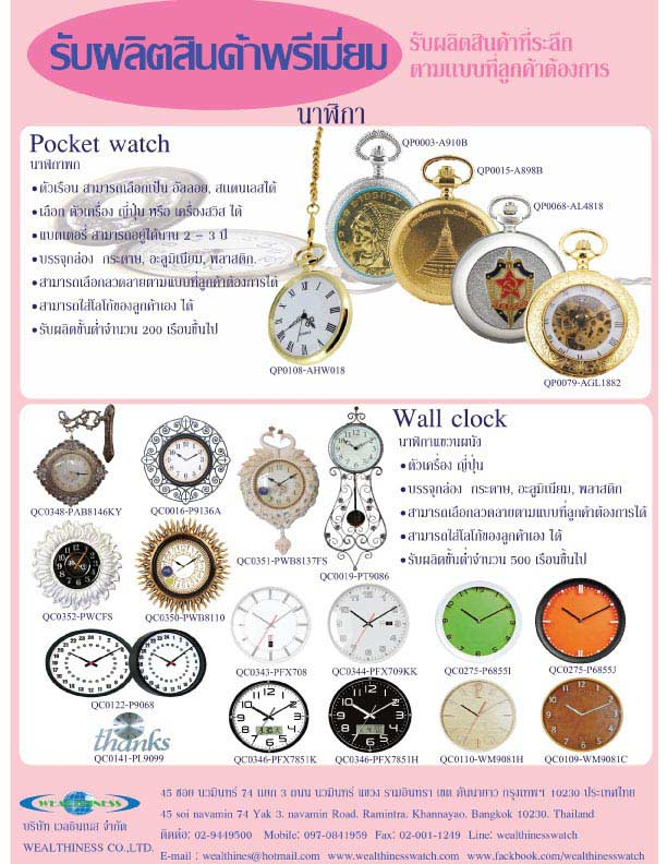 Keychain watch collection